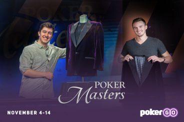 Play the 2019 Poker Masters at the PokerGO Studio: November 4-14