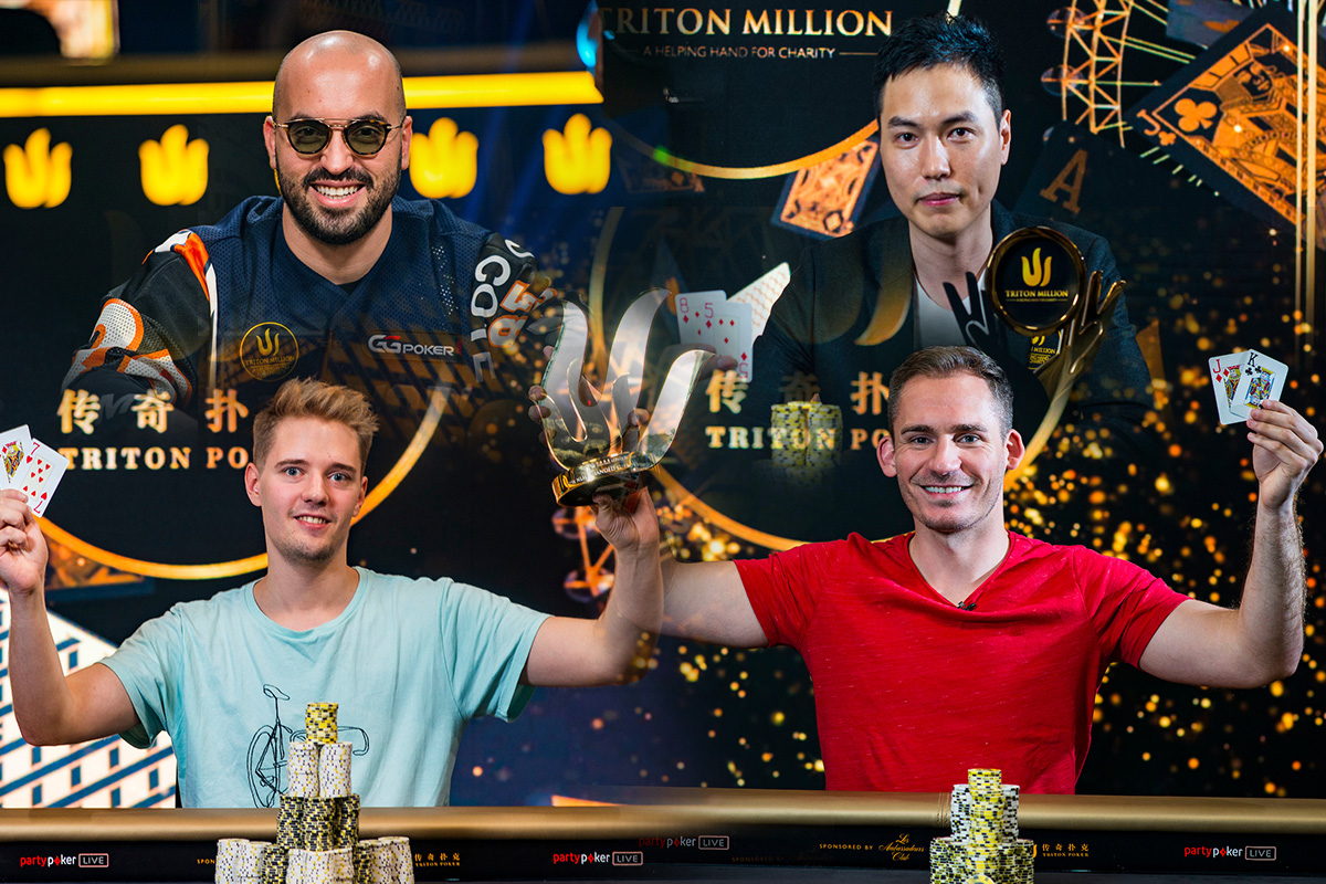 Bryn Kenney, Aaron Zang, Linus Loeliger, and Justin Bonomo were among the biggest winner at the Triton Super High Roller Series in London.