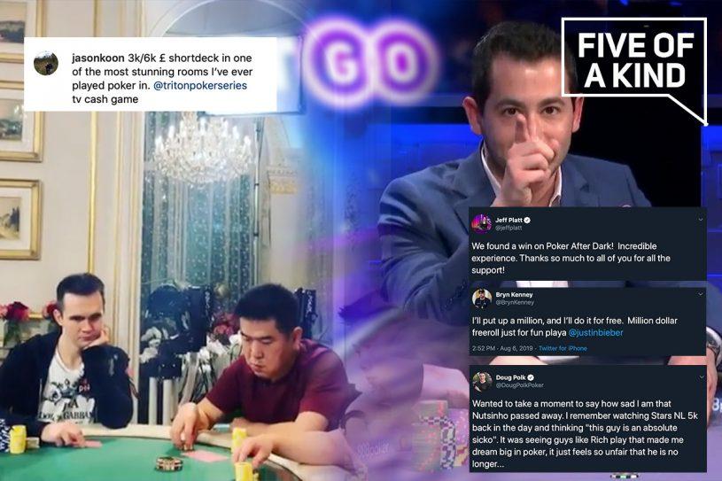 Jeff Platt lived every poker fan's dream on Poker After Dark this week!