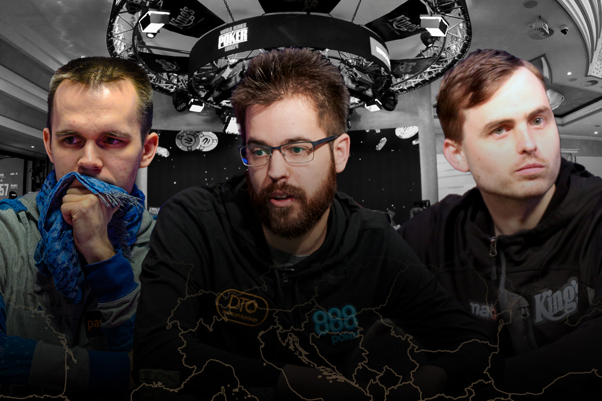 Mikita Badziakouski, Dominik Nitsche, and Martin Kabrhel lead the King's Casino all-time money list.
