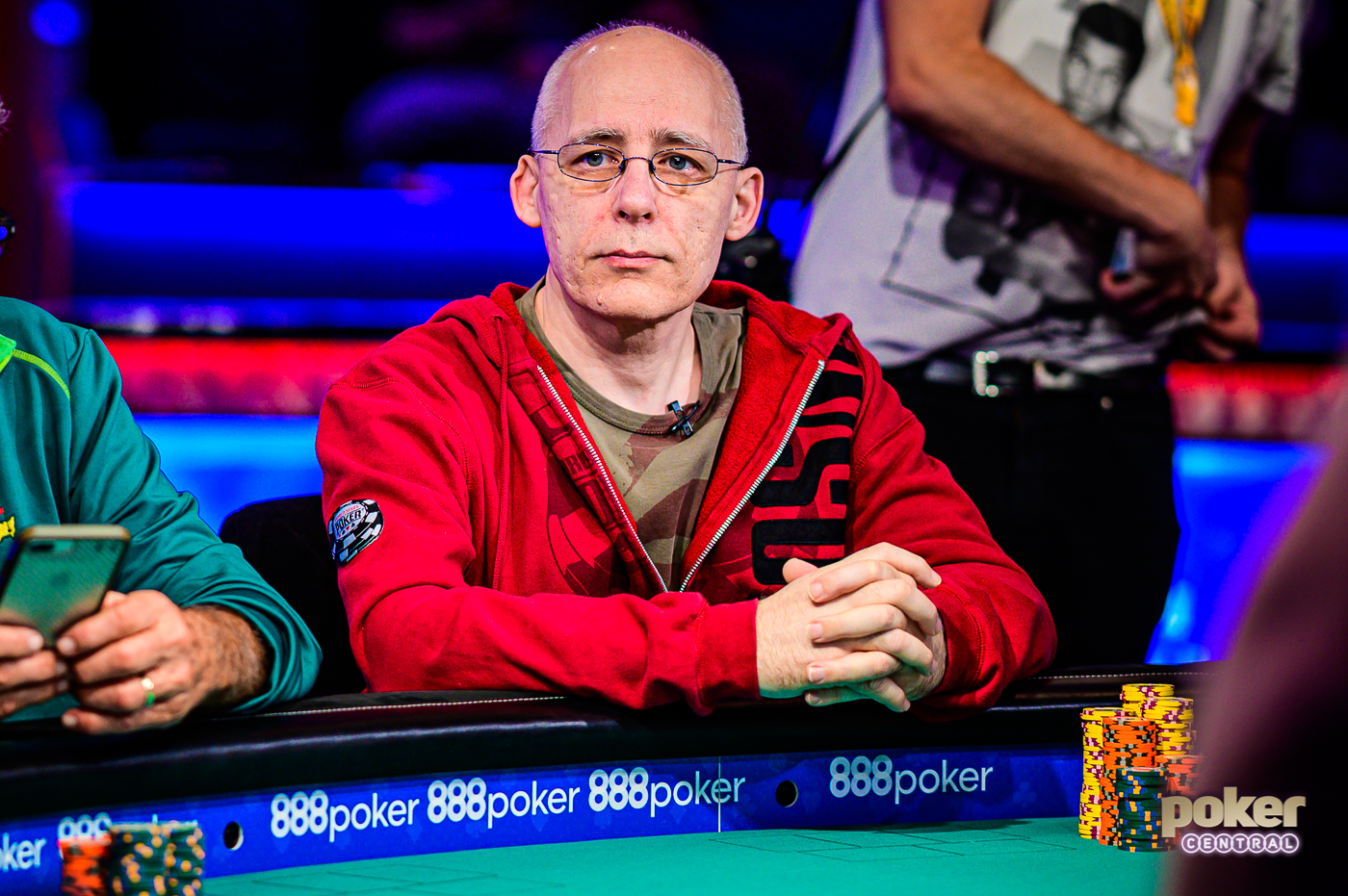 Talal Shakerchi during the 2019 World Series of Poker.