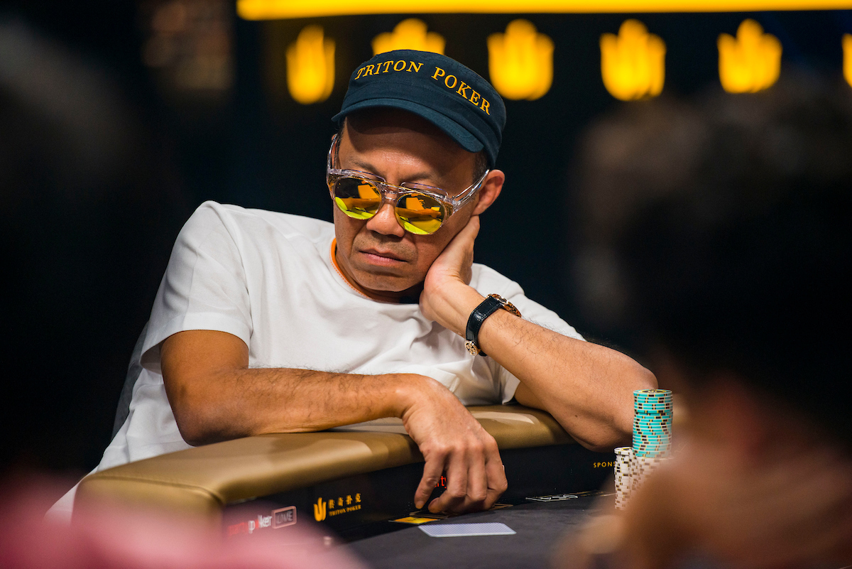 Paul Phua in action during the final table of the £100,000 Main Event. (Photo: PokerPhotoArchive/Joe Giron)