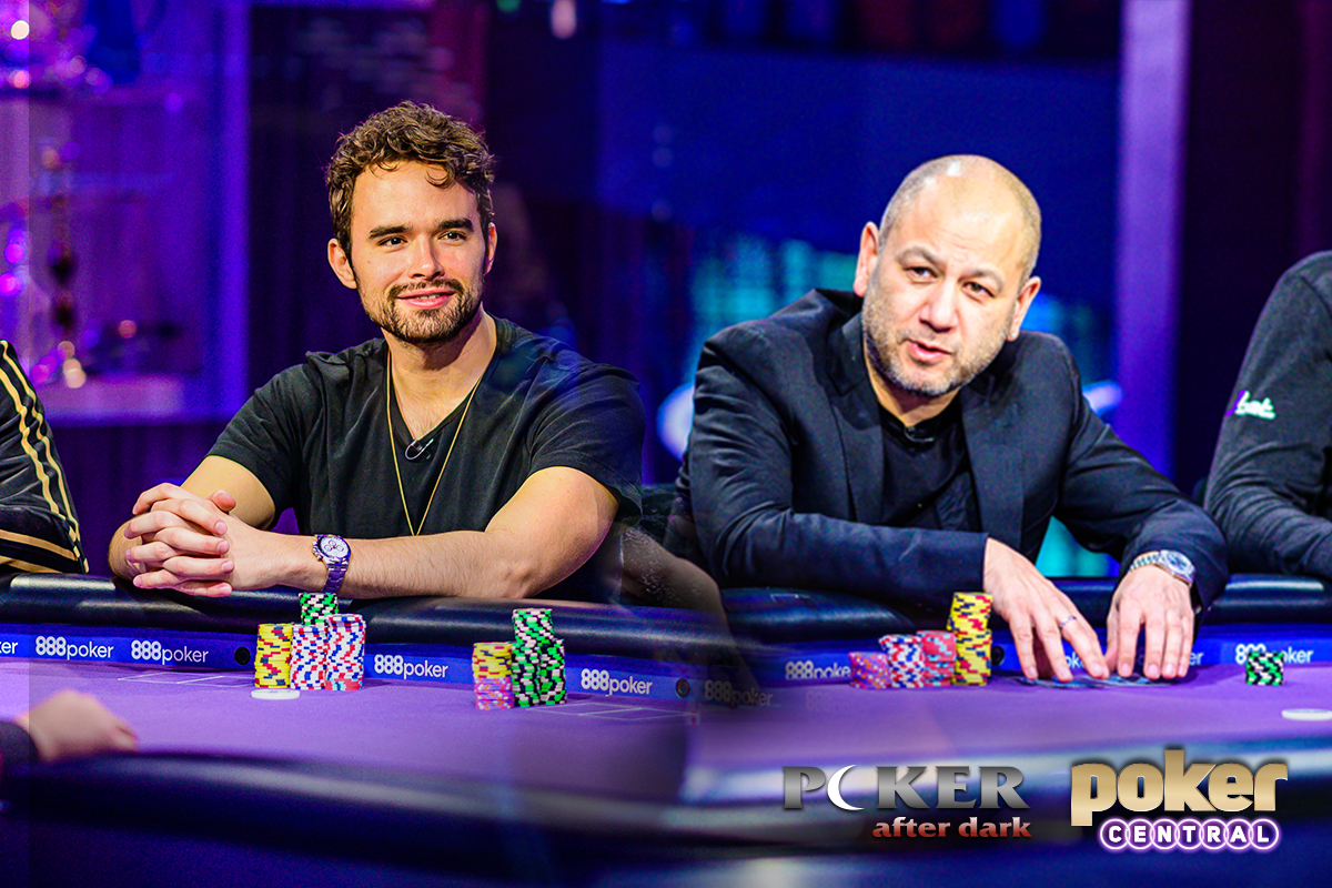 Alan Keating and Rob Yong created fireworks on Poker After Dark!