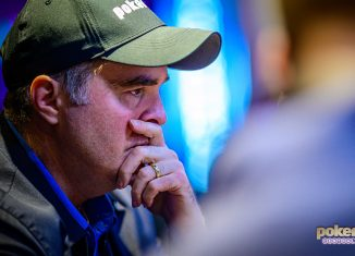 Cary Katz leads British Open Event #4 final table.