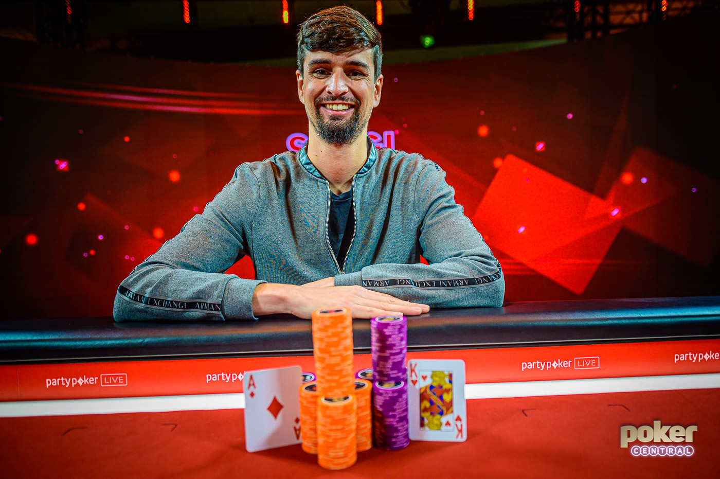 Sergi Reixach claims the British Poker Open Event #6 title.