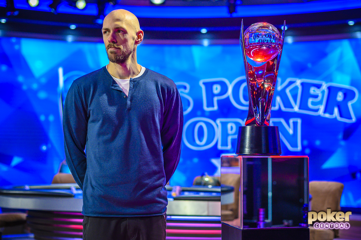 Former U.S. Poker Open champion Stephen Chidwick is contending on Event #1 of the British Poker Open.