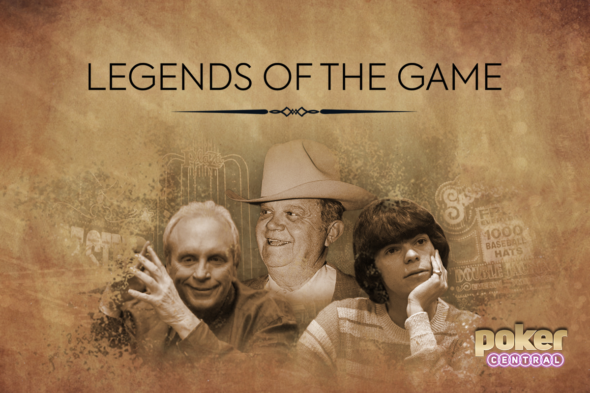 Chip Reese, Benny Binion, and Stu Ungar are among those featured on Legends on PokerGO.