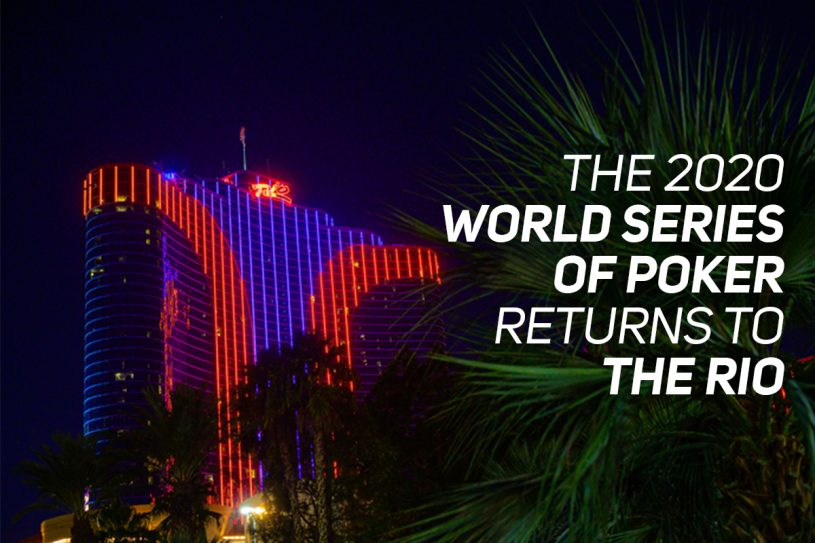 The Rio All-Suites Hotel & Casino remains as the home of the World Series of Poker for the foreseeable future.