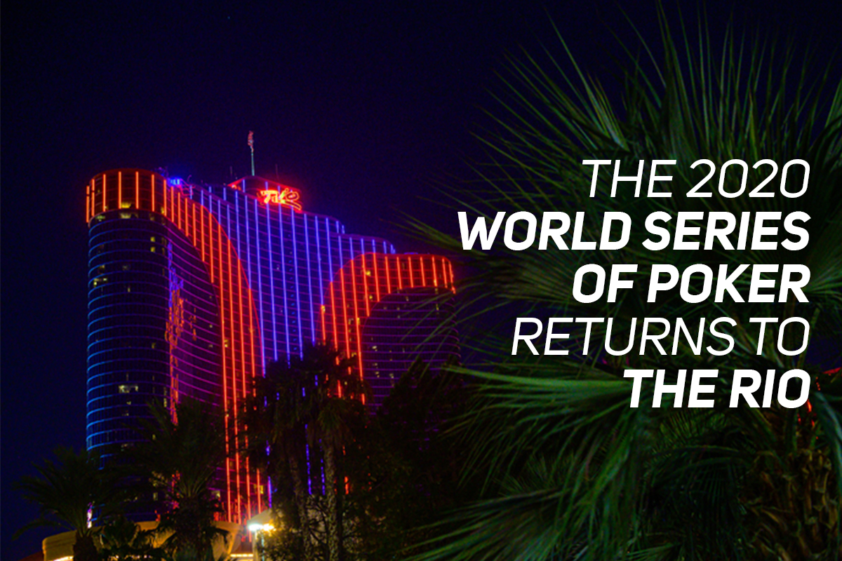 Calendario Wsop 2021 The 2020 World Series of Poker Returns to the Rio All Suites Hotel