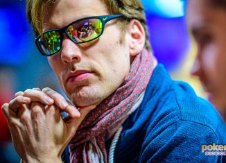 Christoph Vogelsang leads the final table of Super High Roller Bowl London.