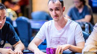 Chip leader George Wolff.