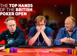 Sam Grafton, Christoph Vogelsang, and Paul Newey were involved in some of the most exciting hands at the British Poker Open!