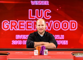 Luc Greenwood wins the first ever British Poker Open event.