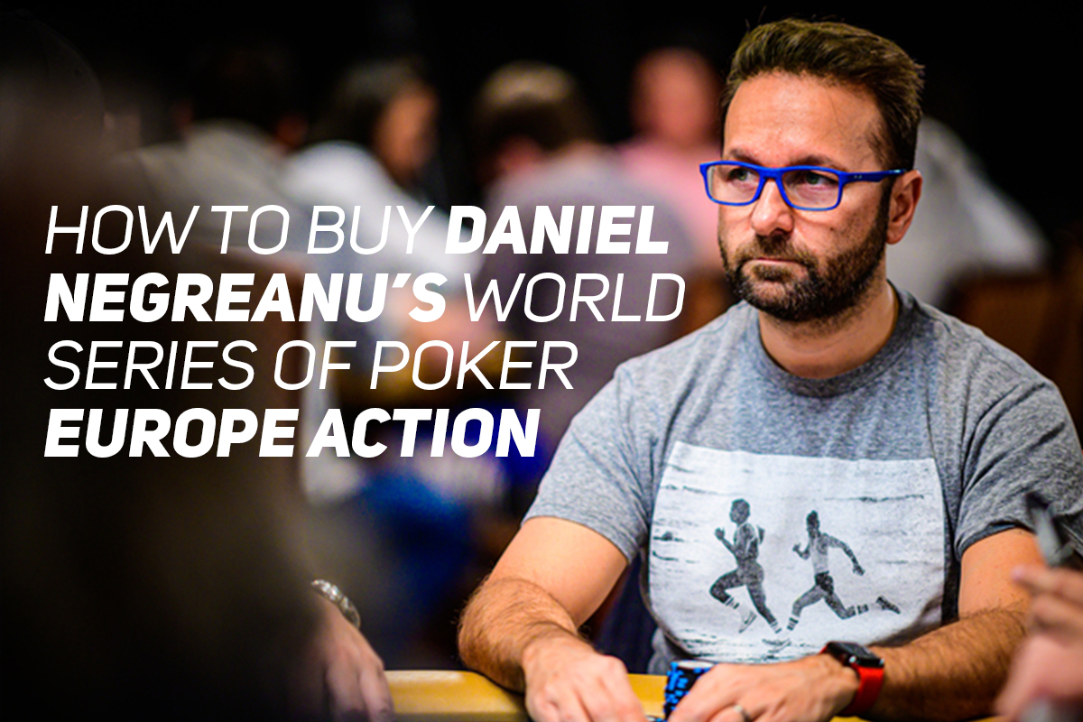 Daniel Negreanu is going all out at World Series of Poker Europe to make a run at becoming the World Series of Poker Player of the Year.