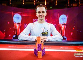 Mikita Badziakouski wins Event #9 of the British Poker Open.