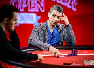 Ben Tollerene was on his way out but the adrenaline of poker sucked him back in.