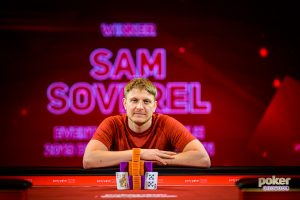 Sam Soverel got his first British Poker Open win after two second place finishes.