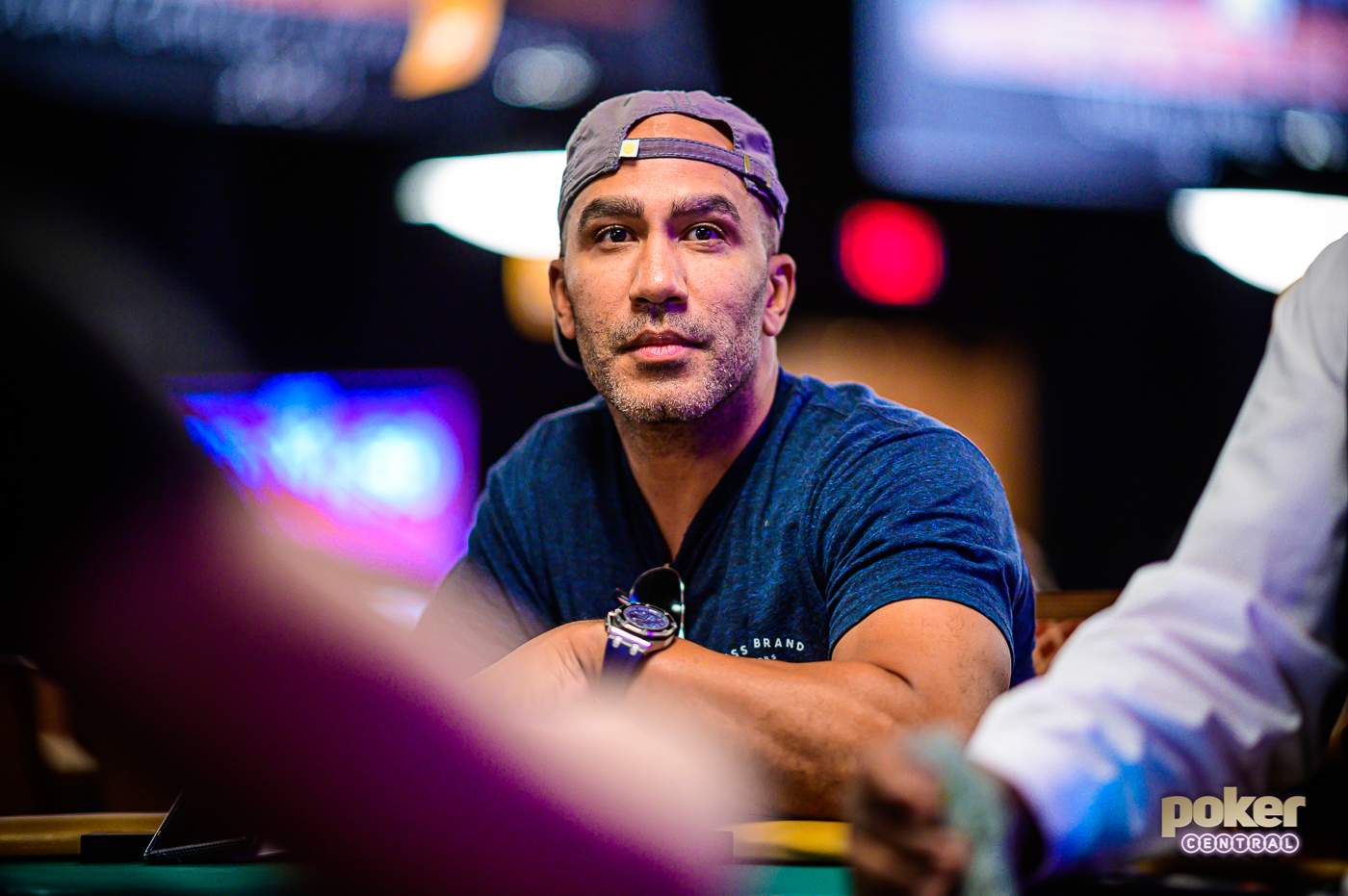 Bill Perkins in action during the World Series of Poker.