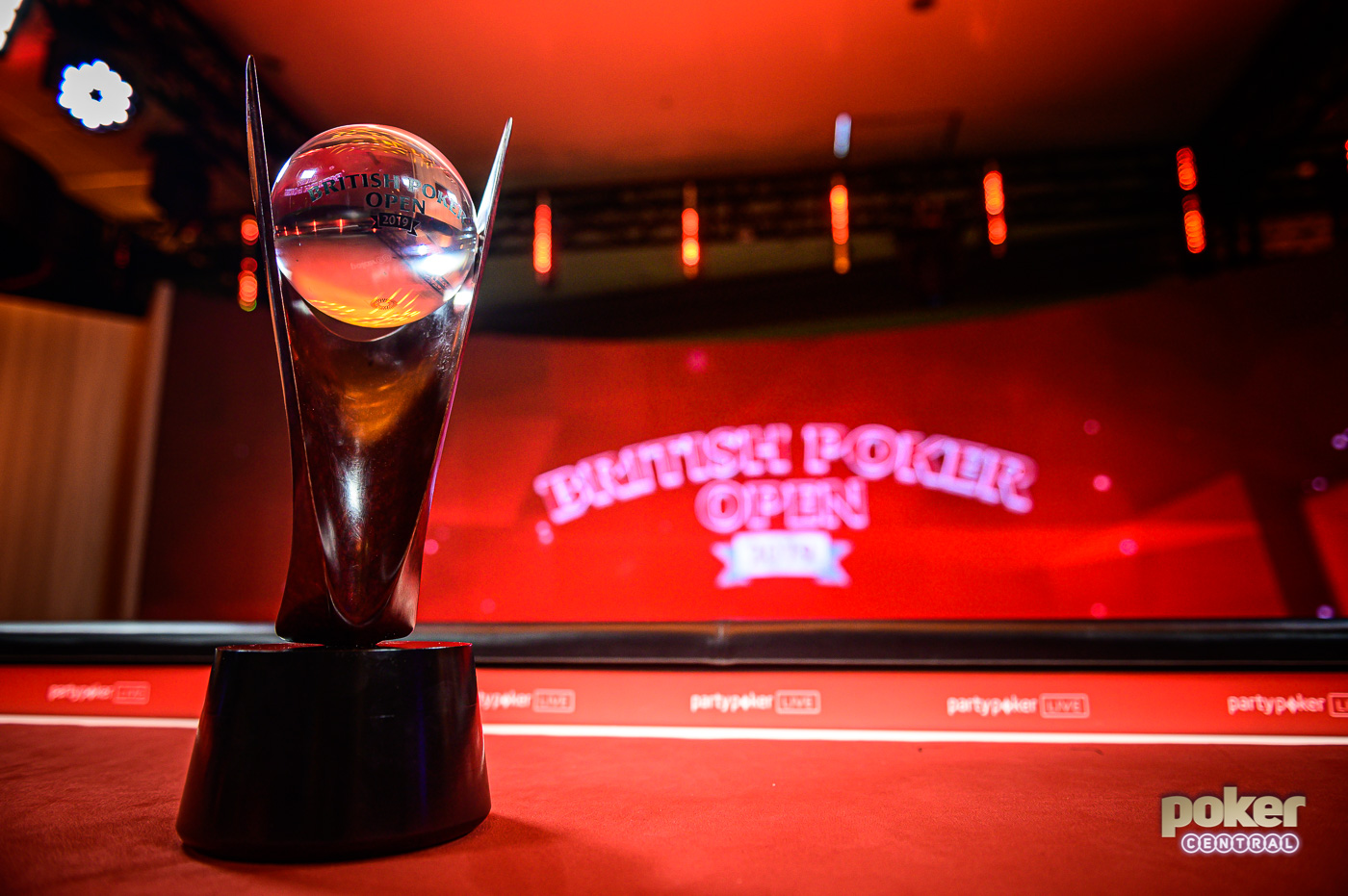 The overall British Poker Open Champion will take home this iconic trophy.