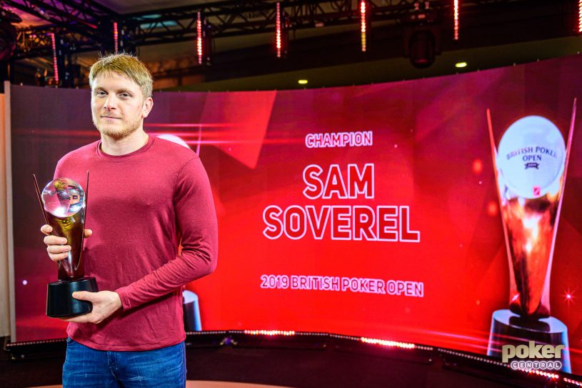 Sam Soverel became the first ever British Poker Open champion at Aspers Casino in London.