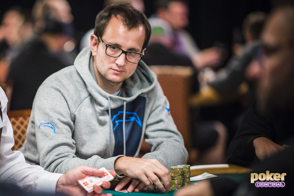 Rainer Kempe during the 2019 World Series of Poker.