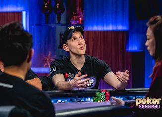 "Jason Somerville in action during ""Run it Up"" week on Poker After Dark."