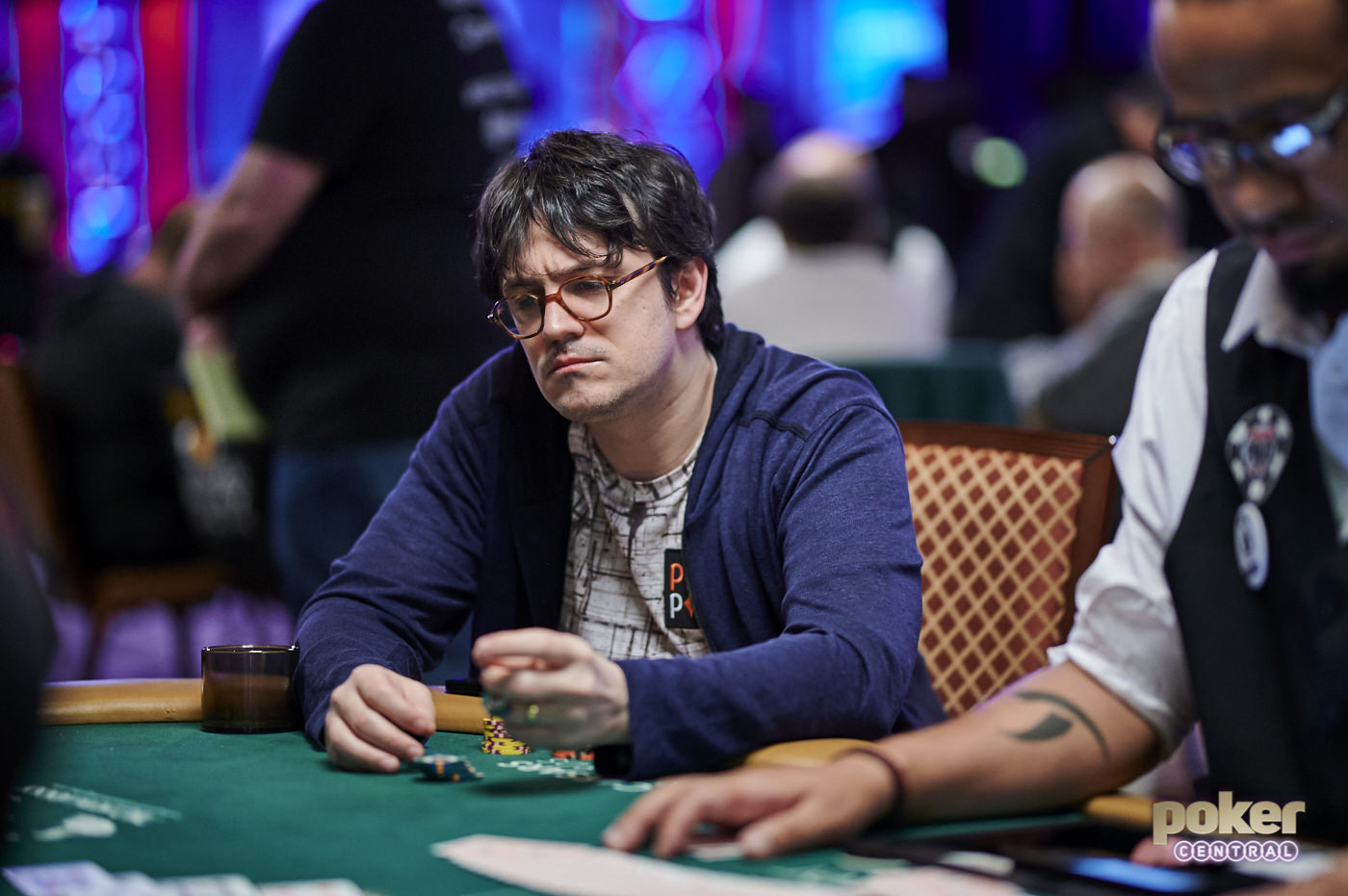 Isaac Haxton during the 2019 World Series of Poker.