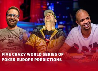 Daniel Negreanu, Phil Hellmuth, and Phil Ivey are part of my five crazy predictions at World Series of Poker Europe.
