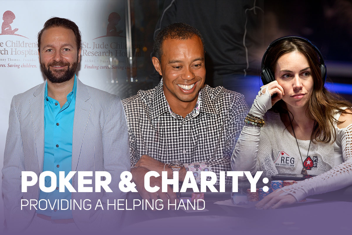 Daniel Negreanu's St. Jude's poker charity event, Tiger Woods' Tiger Jam, and Liv Boeree supporting R.E.G. are just some of the top charitable initiatives in poker.