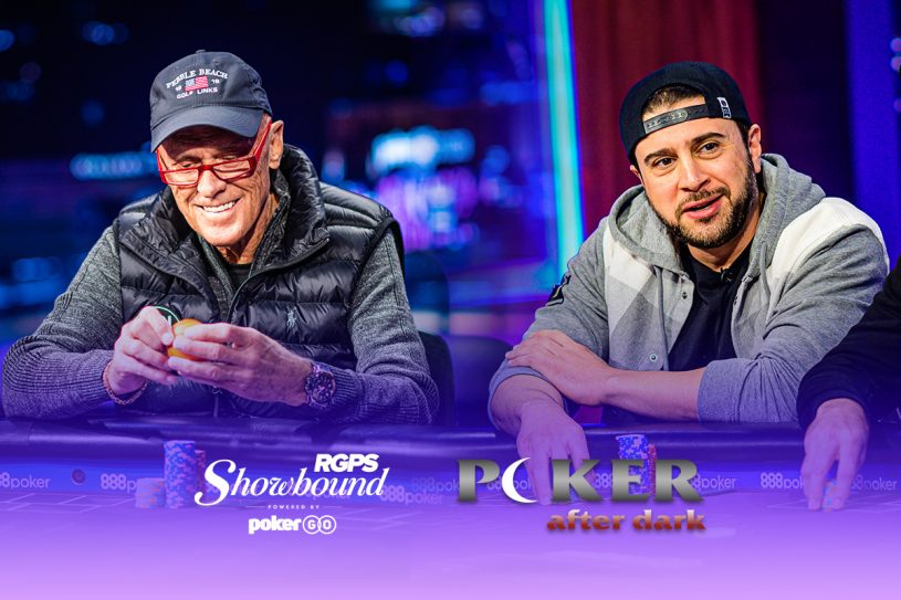Clyde Torance and Woody Kaawar saw their poker dreams come true playing on Poker After Dark after qualifying through Showbound at the RUNGOOD Poker Series.