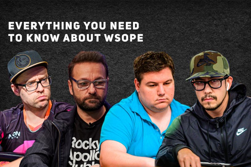Robert Campbell, Daniel Negreanu, Shaun Deeb, and Phil Hui contend for WSOP Player of the Year honors in Rozvadov.