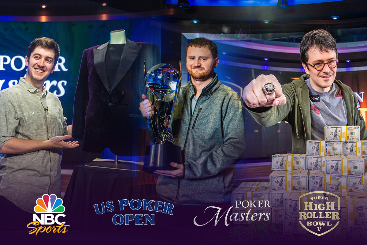 Watch the Poker Masters, U.S. Poker Open and Super High Roller Bowl V on NBC Sports in the coming months.