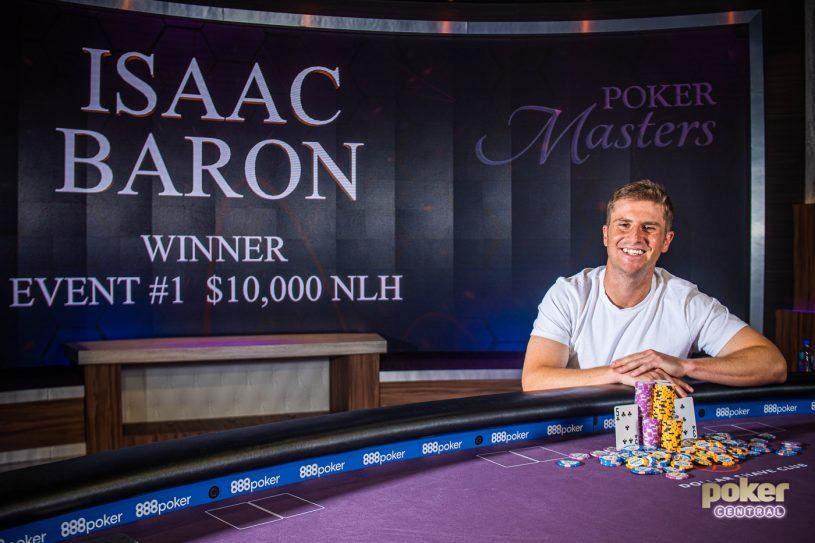 Isaac Baron Poker Masters