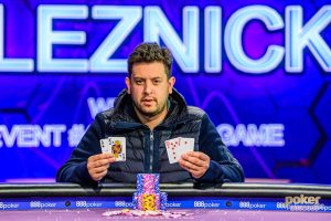 Jared Bleznick wins Event #4 of the 2019 Poker Masters.