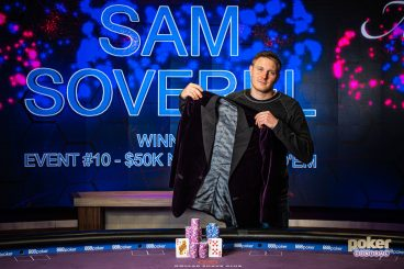 Sam Soverel Wins the Poker Masters Main Event, Purple Jacket & $100,000 Championship Prize