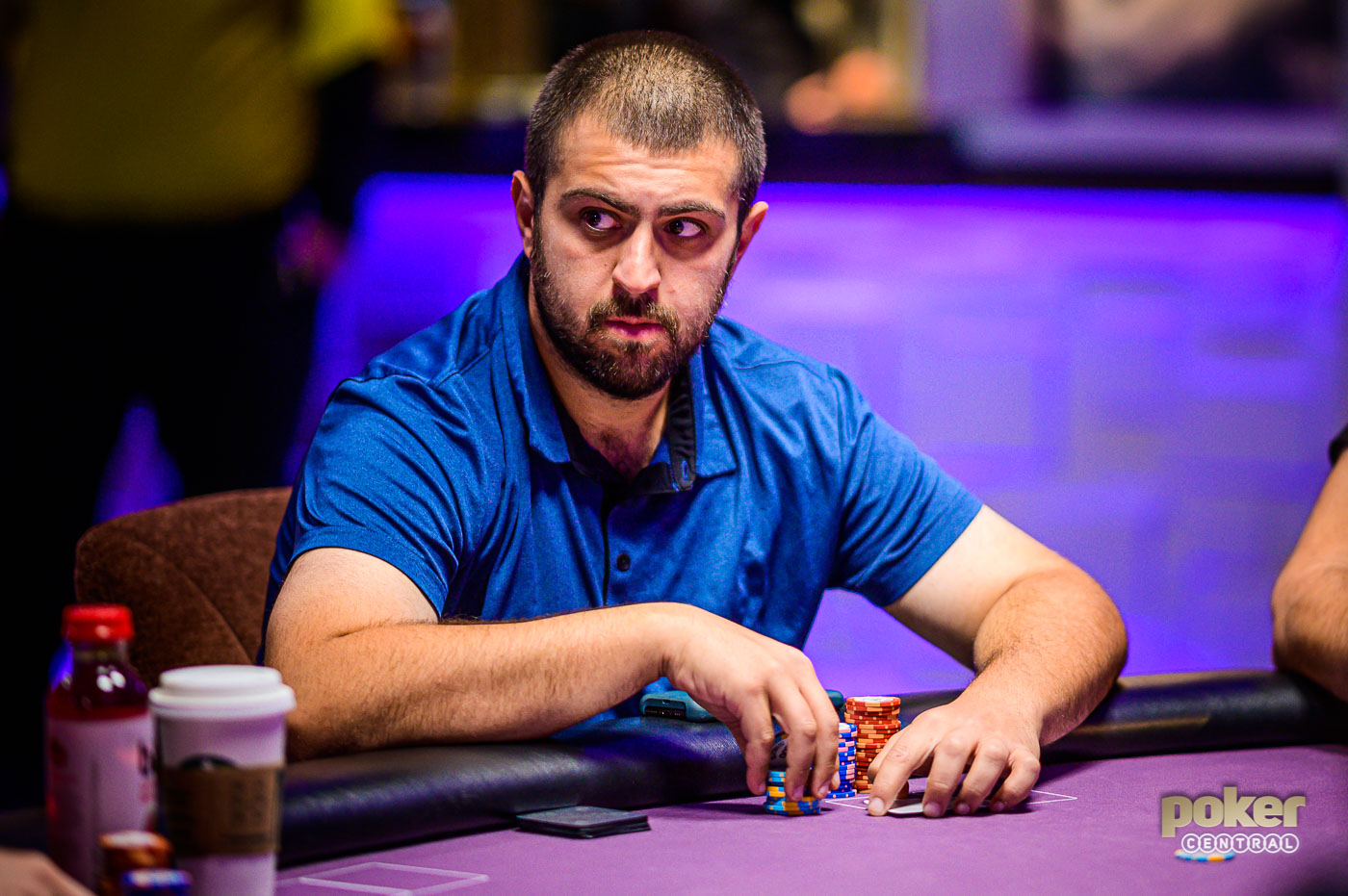 Scott Blumstein finished sixth in Event #1 of the Poker Masters.