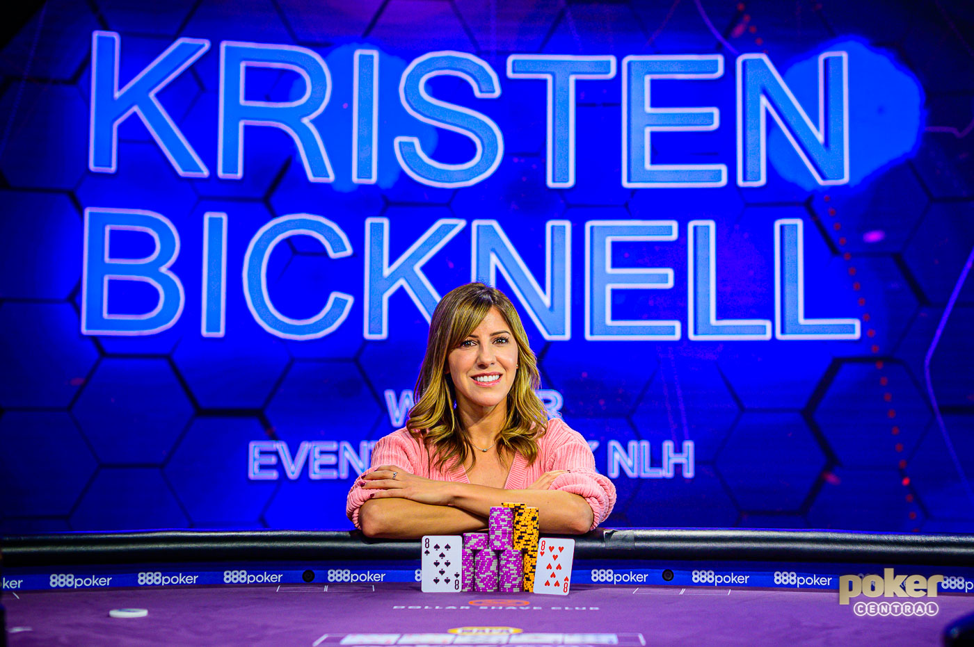 Kristen Bicknell claimed the biggest victory of her poker career at the 2019 Poker Masters.