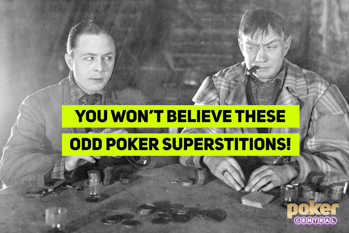 poker superstitions