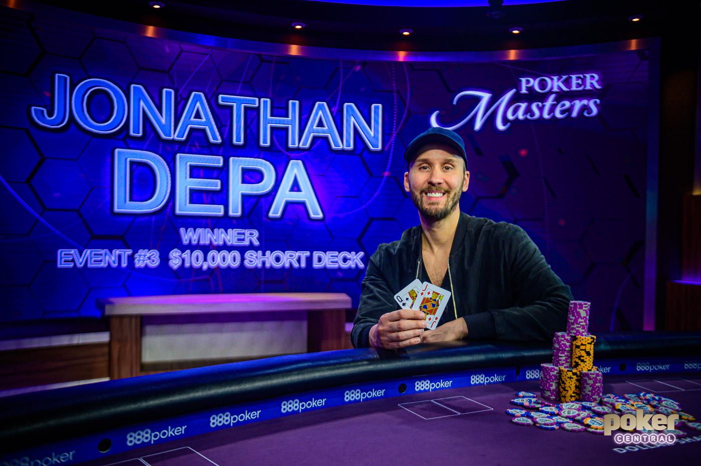 Jonathan Depa Wins Event #3 of the 2019 Poker Masters.