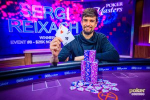 Sergi Reixach wins Poker Masters Event #8 for $369,000.