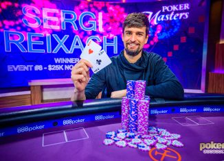 Sergi Reixach wins Poker Masters Event #8 for $369,000.
