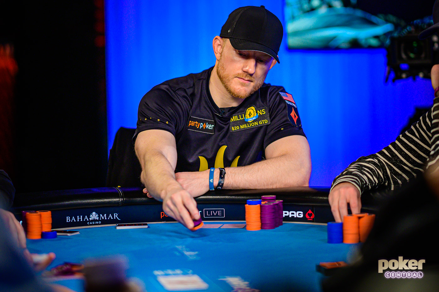 partypoker pro Jason Koon battled hard but fell short of the Super High Roller Bowl Bahamas crown.