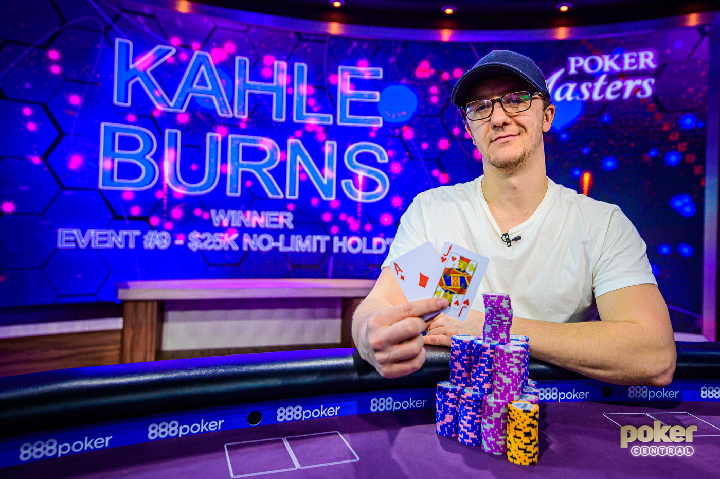Kahle Burns wins Event #9 of the 2019 Poker Masters.