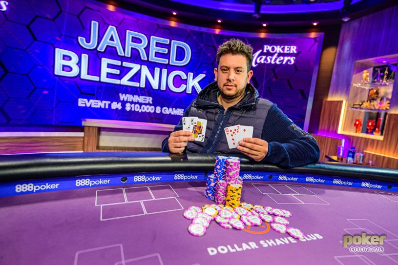 Jared Bleznick took down Event #4 of the 2019 Poker Masters for the first outright win of his live tournament career.