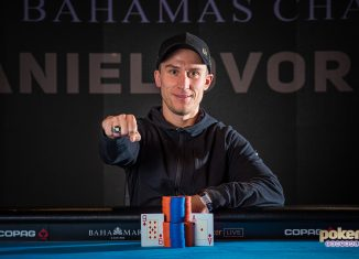 Daniel Dvoress wins Super High Roller Bowl Bahamas.
