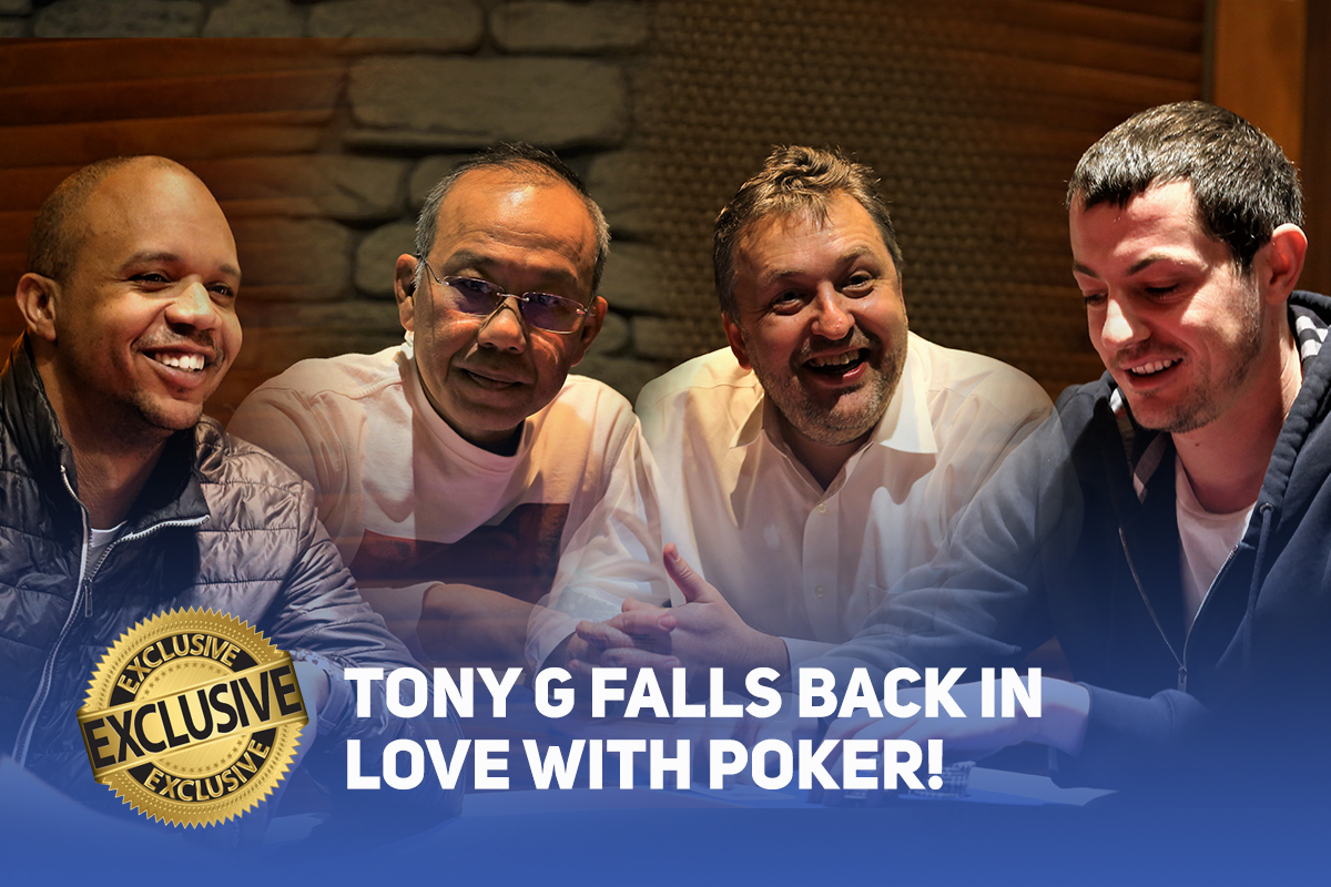 In a Poker Central Exclusive, Tony G talks about falling back in love with poker.