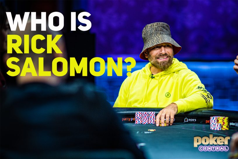 Who is Rick Salomon? | Poker Central