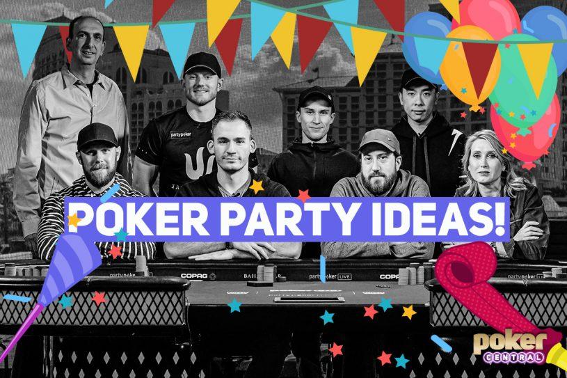 poker party ideas