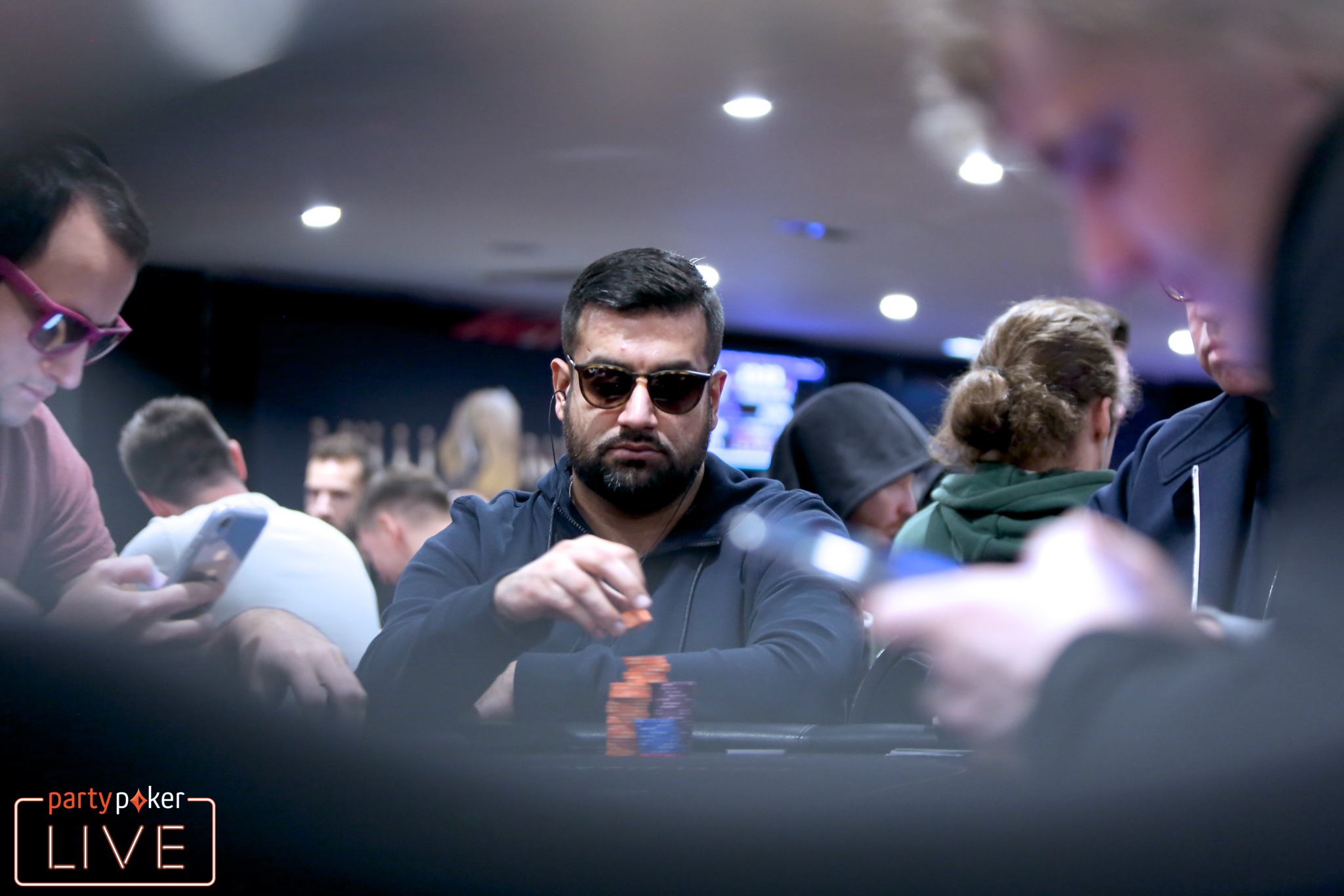 Kully Sidhu (photo: Mickey May/partypoker)