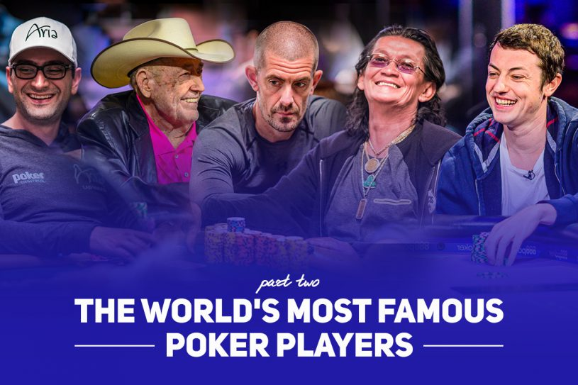 In our quest for mapping out the most famous poker players in the world, here's Part 2 featuring Doyle Brunson, Gus Hansen, and many more!
